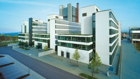 Modern building of the Engineering Park in Stuttgart Vaihingen